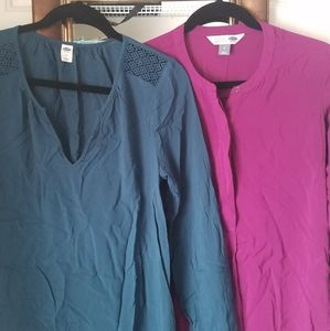 Set of 2 Long sleeve Tunic